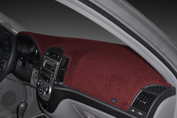 Poly carpet dash cover maroon
