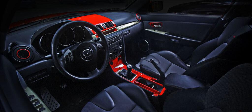 Mazda dash kit