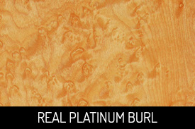 Real Platinum Burl