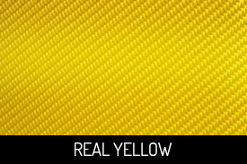 Real Yellow Carbon Fiber