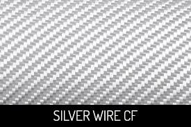 Silver Wire Carbon Fiber