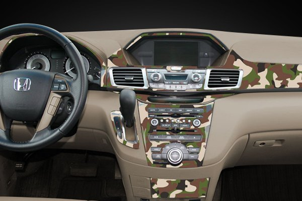sherwood dash kit classic brown camo honda accord
