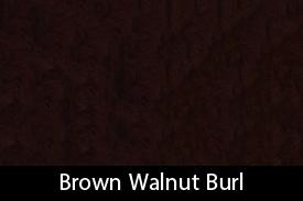 Brown Walnut Burl