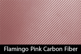 Flamingo Pink Carbon Fiber