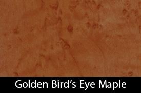 Golden Bird's Eye Maple