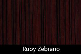 Ruby Zebrano
