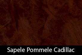 Sapele Pommele Cadillac Color