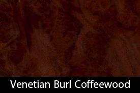 Venetian Burl Coffeewood