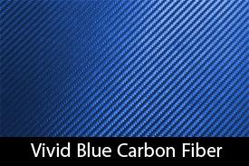 Vivid Blue Carbon Fiber