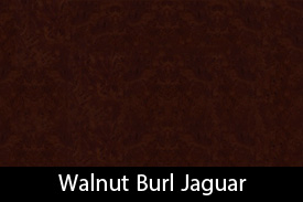 Walnut Burl Jaguar